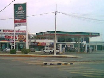 A Typical Pemex Gas Station