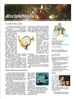 Winter 2008 Newsletter