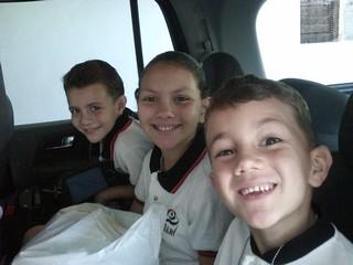The Godzwa kids: Ready to go back!