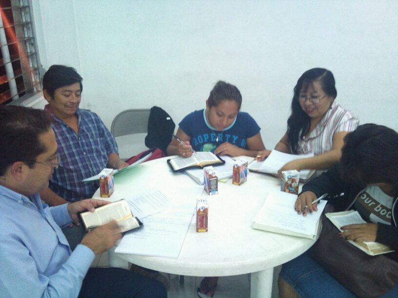 Discipleship in progress...